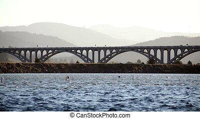 Issac Lee Patterson Bridge - Bridge Over Rogue River Oregon...