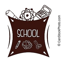 Back to School design - back to school concept with...
