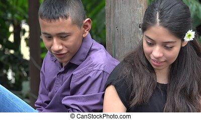 Curious Teen Friends or Siblings