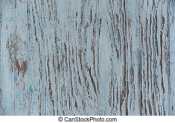 Old painted wooden texture - Part of an old wooden fence...