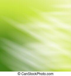 Abstract green background with white rays