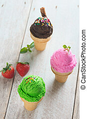 ice cream cone variation