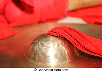 Copper gong