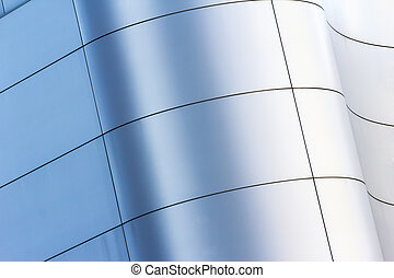 curved facade building in City