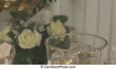 Details of the wedding decor