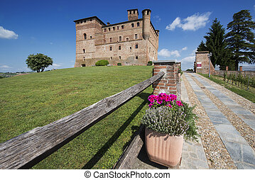 Spring View the Langhe Unesco heritage - Spring view of the...