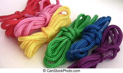 Colour laces revolve