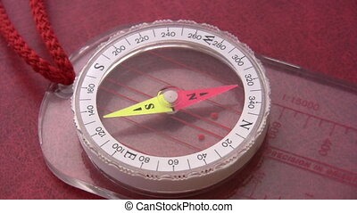 Compass revolves