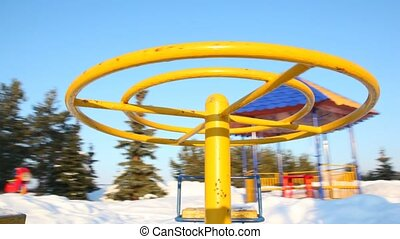 Rotation to round-robins on baby playground