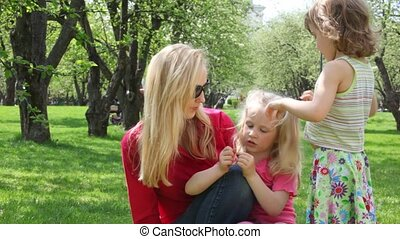 ma and girls talk
