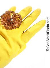 decoration, gloves