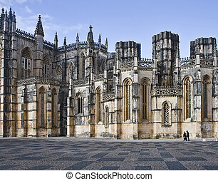 Batalha Monastery - A gem of the Portuguese Gothic, built...