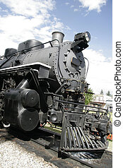 Past - Steam locomotive