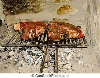 Steaks - Made to cook steaks on the grill