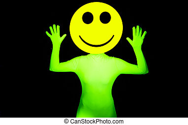 sexy acid smiley rave dancer - sexy acid house smiley rave...