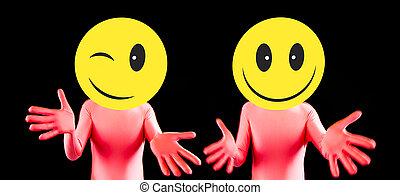 acid smiley rave dancer - acid house smiley rave dancer