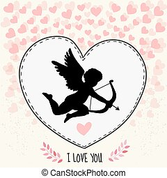 Happy valentines day gritting card - Happy valentine's day...