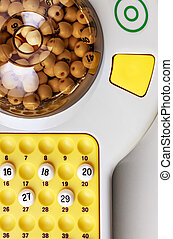 Bingo Game - electronic bingo game with balls to play...