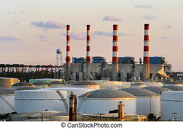 Industrial Power Plant. - Industrial Power Plant