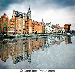 historic city of Gdansk