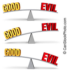 Weighing Good And Evil Set