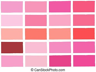 Pink Tone Color Shade Background Illustration