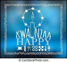 Festival Kwanzaa Holiday card - Festival Kwanzaa Happy...