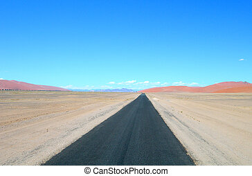 Road in Namibia, Africa