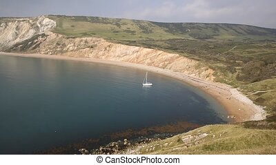 Worbarrow Bay Dorset near Tyneham - Worbarrow Bay east of...