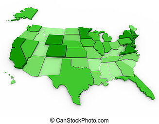 Per Capita Income - United States Map - Per Capita Income of...