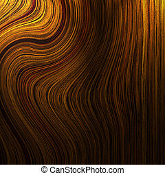 Wood texture with curled lines in it