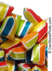 Colorful candy - Close-up image of handmade and colorful...