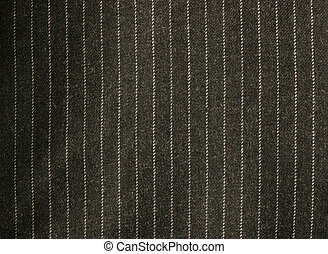 Pinstriped suit texture - Macro image of a pinstriped...