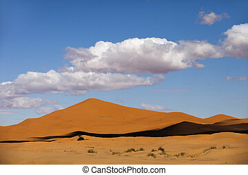 dunes,  chebbi, sable,  erg