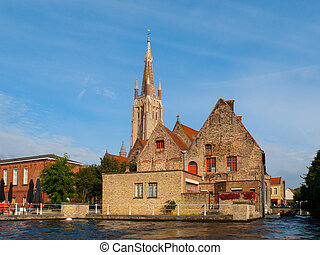 Church of Our Lady in Bruges - High tower of Church of Our...