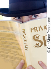 Spying Private Eye