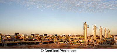 Energy sector - Natural gas compressor station