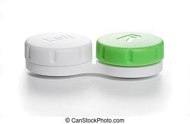 Visual aid - Contact lens case