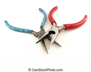 Two combination pliers