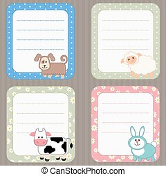 Collection of cute frames.