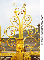 abstract gold in englan  background