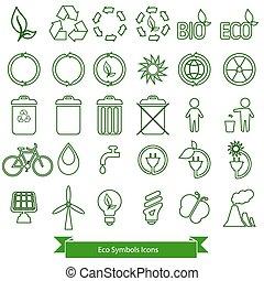 Ecology icons.