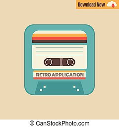 tape cassette - application tape cassette, classic in modern...
