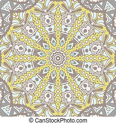 Abstract geometric seamless pattern ornamental - Abstract...
