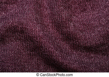 purple soft knitting wool moher texture background,...