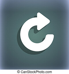 freccia, spazio, aggiornamento, blu-verde, Simbolo, testo, Estratto, fondo, uggia, tuo, icona
