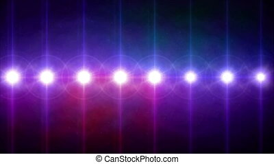 circle lens flares pattern turn on color hd - abstract image...
