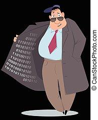 Selling information - Black market vendor selling...