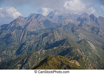 mountain landscapes of the Caucasia - Beautiful mountain...