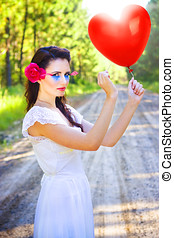Heartache And Heartbreak - Beautiful Cupid Wearing Artist...